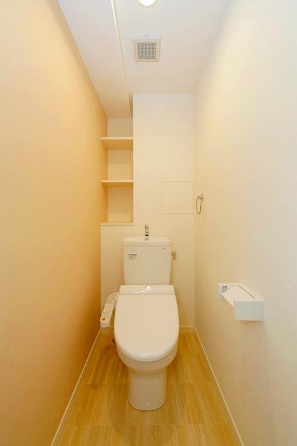 シャトーポルターダ博多南 / 401号室トイレ