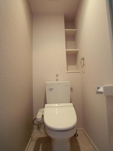 ハルコート大橋 / 602号室トイレ