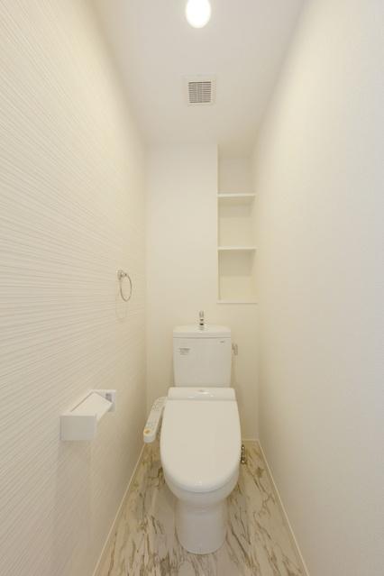 プレジデント正弥博多 / 201号室トイレ