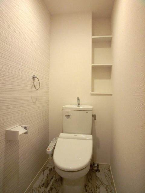 プレジデント正弥博多 / 203号室トイレ