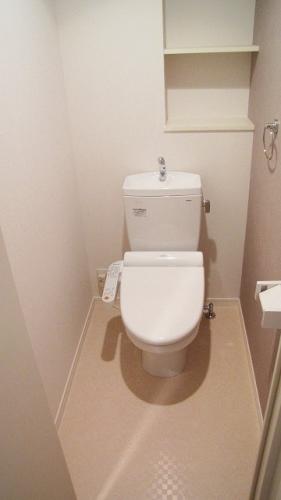 シエラハウス / 102号室トイレ