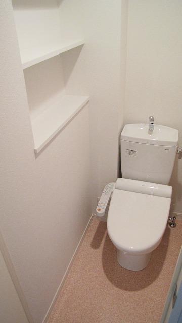 シエラハウス / 206号室トイレ