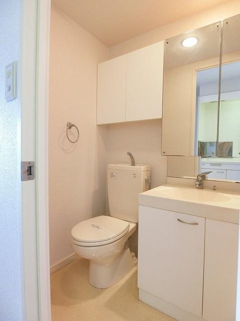 NAOレインボーコーポ井尻 / 201号室トイレ