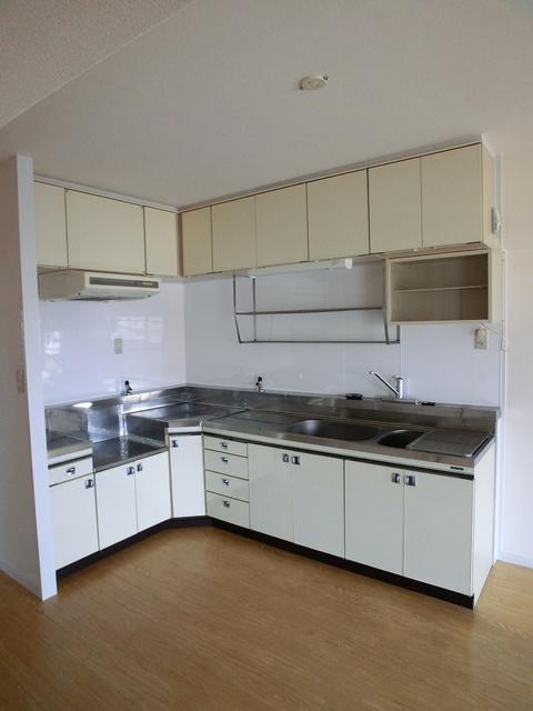 エクセレント36 / 502号室キッチン