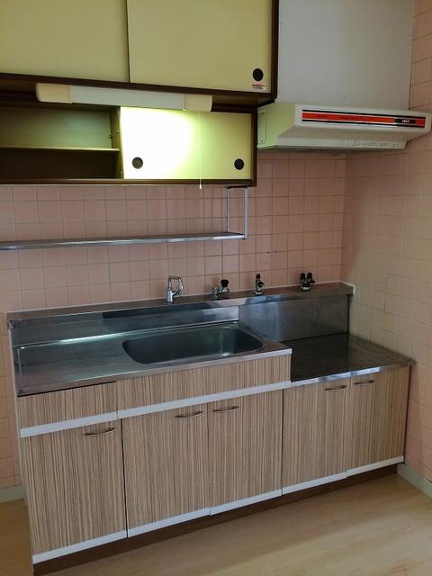 松岡コーポ / 102号室キッチン