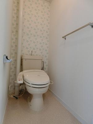 レジデンス飯田 / 107号室トイレ