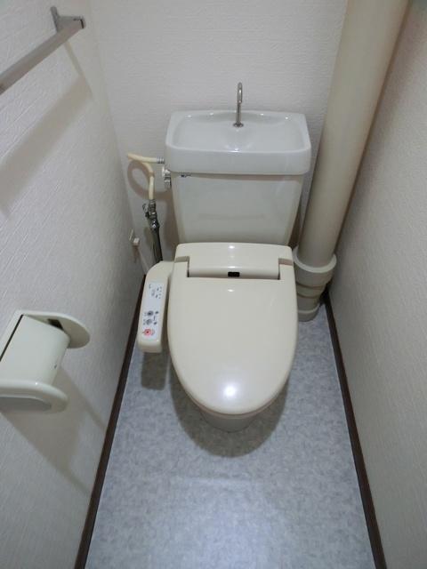 井尻第3ビル / 602号室トイレ