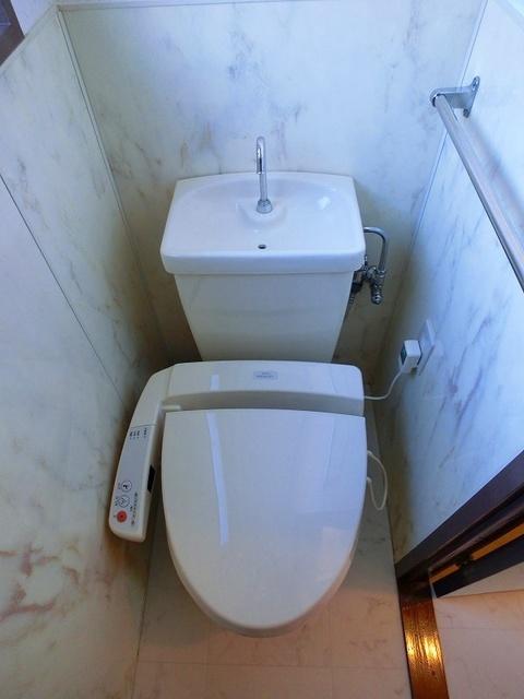 池の上ハイツ / 203号室トイレ