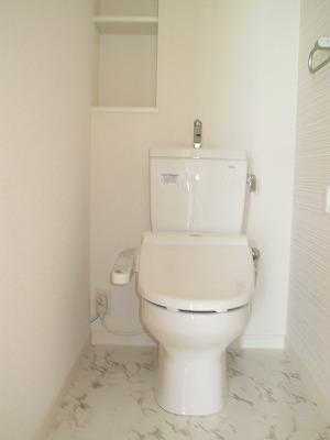 パーク ストリーム / 401号室トイレ