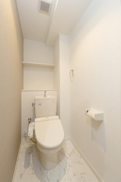 シャトーポルターダ博多南 / 402号室トイレ