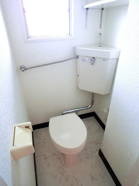 紙屋ビル / 303号室トイレ
