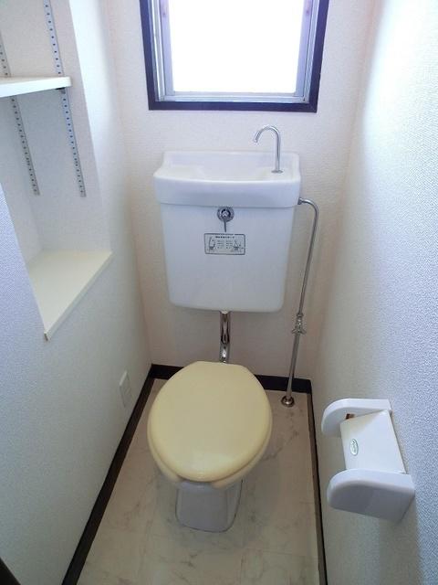 紙屋ビル / 402号室トイレ