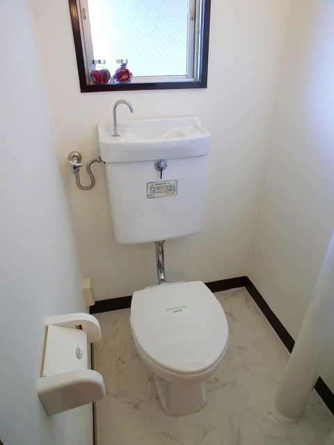 紙屋ビル / 501号室トイレ