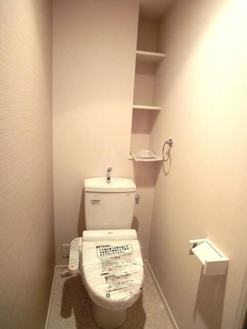 ハルコート大橋 / 402号室トイレ