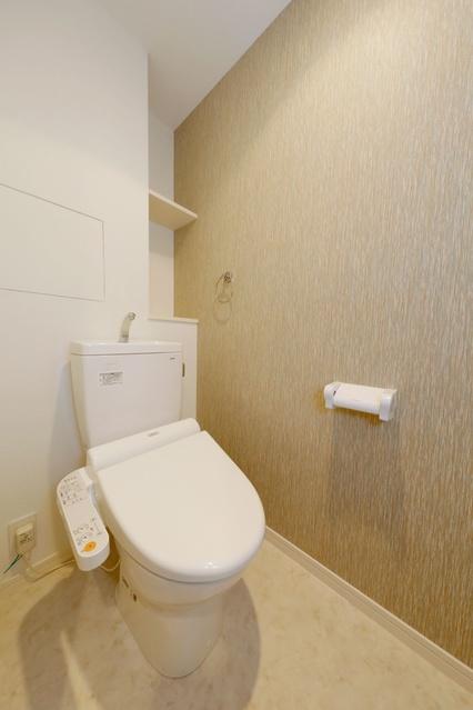 リヴィエールシャン那珂 / 501号室トイレ