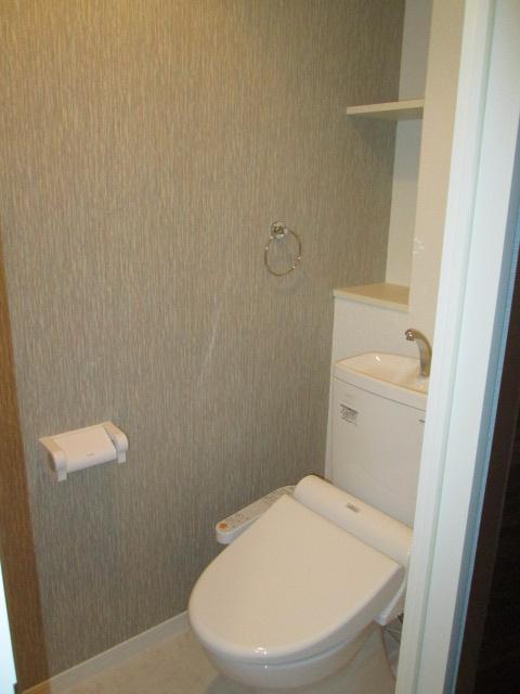 リヴィエールシャン那珂 / 601号室トイレ