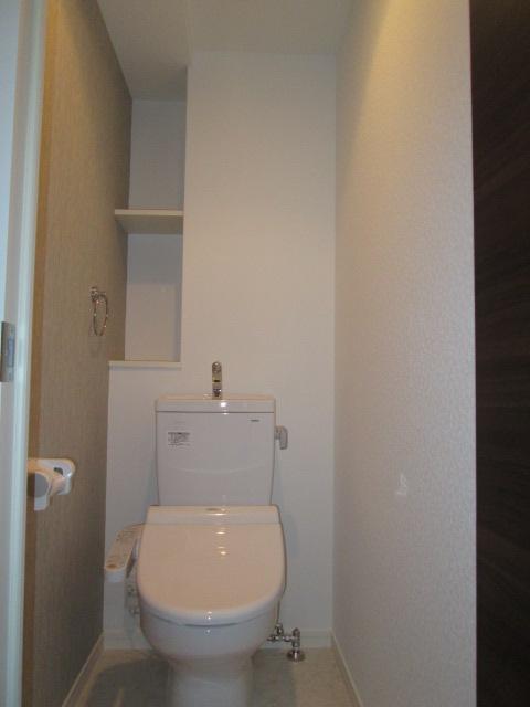 リヴィエールシャン那珂 / 602号室トイレ
