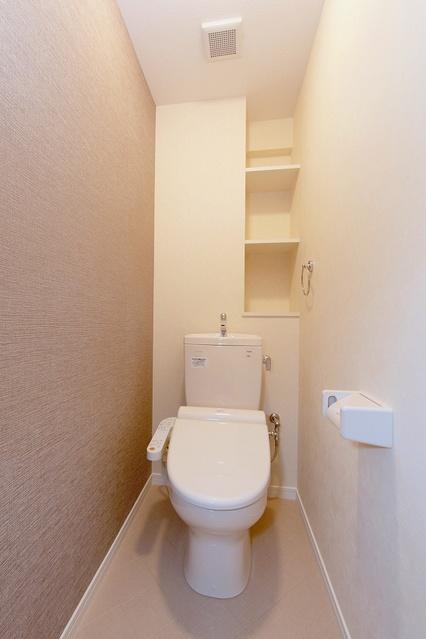 プロスペール井尻 / 102号室トイレ