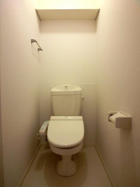 ローズハイム野多目 / 202号室トイレ