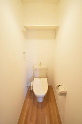メイプルヴィラ / 201号室トイレ