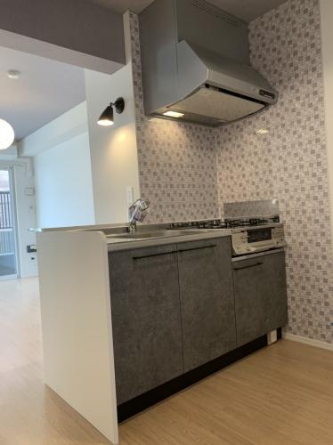 ラ・ブランシュ / 406号室キッチン