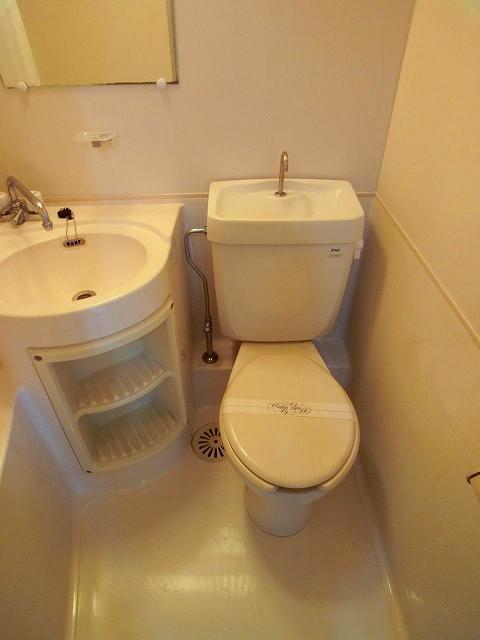 エクセレント12 / 203号室トイレ