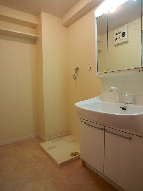 ソルモンテはかた / 802号室洗面所