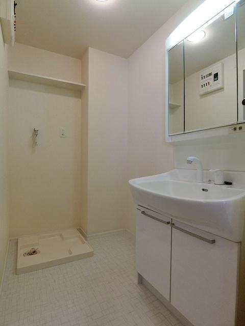 ソルモンテはかた / 901号室洗面所