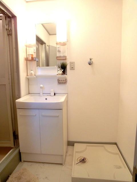 紙屋ビル / 101号室洗面所