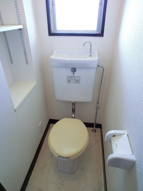 紙屋ビル / 302号室トイレ
