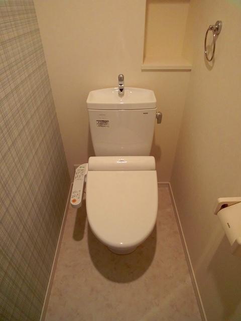 ハルコート大橋 / 903号室トイレ