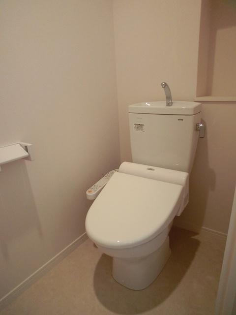 シエラハウス / 101号室トイレ