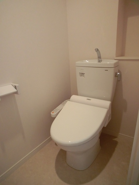 シエラハウス / 406号室トイレ
