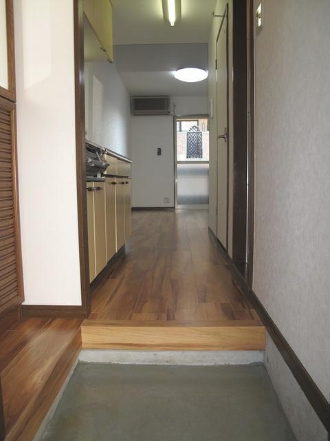 第3的野コーポ / 206号室玄関