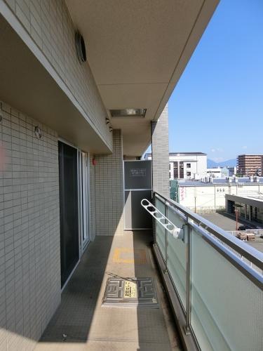 イーストパル博多Ⅱ / 502号室バルコニー