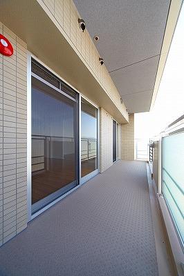 イーストパル博多Ⅱ / 803号室バルコニー