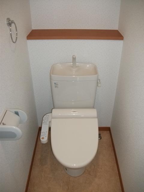 サンパティーク高宮 / 206号室トイレ