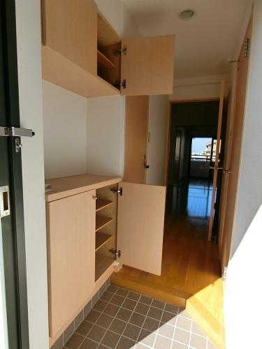 サンパティーク高宮 / 1102号室バルコニー