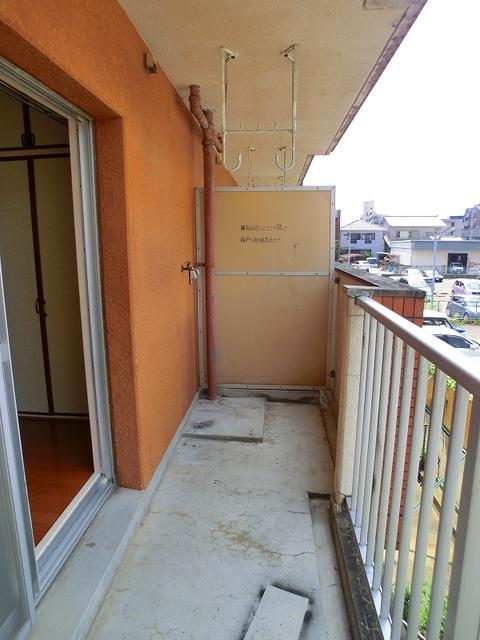 山本ビル / 202号室バルコニー
