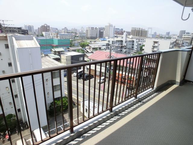 井尻第3ビル / 303号室バルコニー