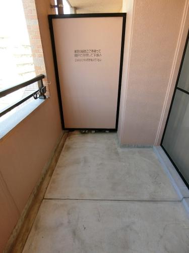 サンパティーク高宮 / 602号室バルコニー