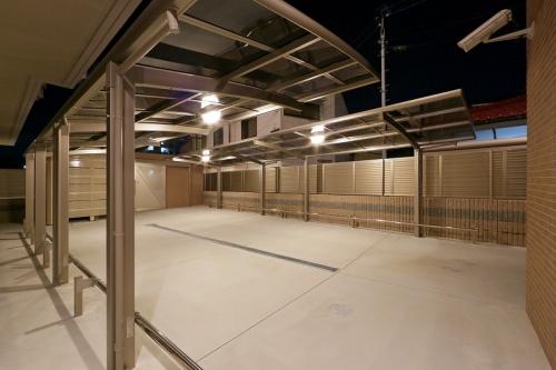 グランディア清水 / 303号室駐輪場