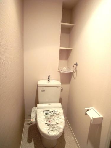 ハルコート大橋 / 502号室トイレ