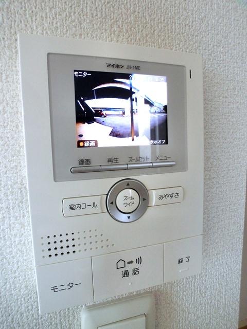 ローズハイム野多目 / 201号室セキュリティ