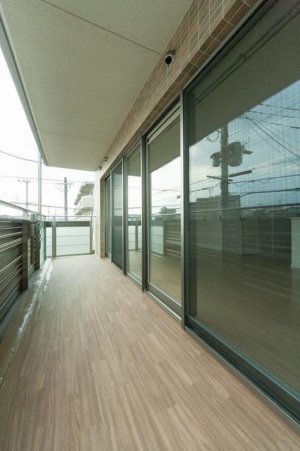 ノース ガーデン / 303号室バルコニー