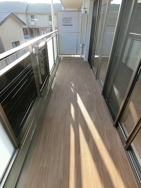 アンビエントN / 301号室バルコニー