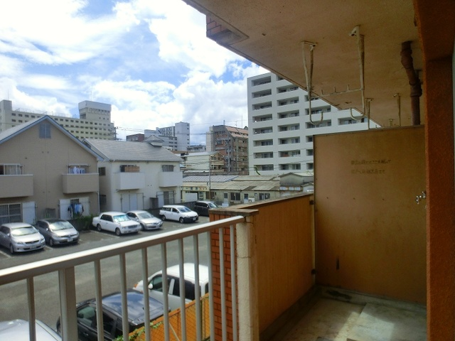 山本ビル / 206号室バルコニー