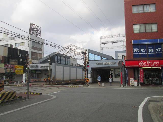 西鉄井尻駅(井尻→大橋→高宮→平尾→薬院→天神)