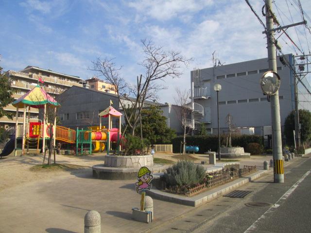 三筑公園がほんの近くにございます。お子様の遊び場に最適です。