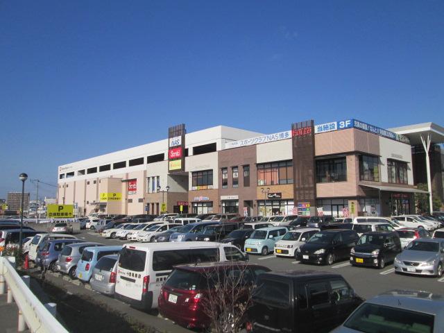 少し離れているところにもショッピングモールがあり買物便利です。